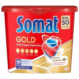 Somat Dishwasher tabs Gold XXL, 50 pcs