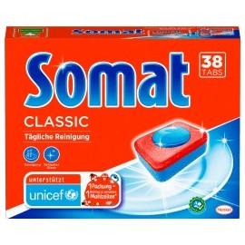 Somat Dishwasher tabs Classic, 38 pcs