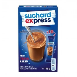 Suchard Express drinking cocoa sticks 10 pieces 145g