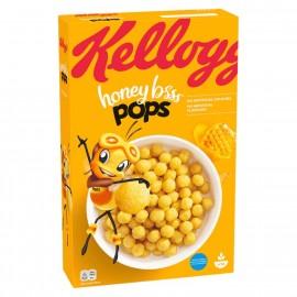 Kellogg's Honey Bsss Pops Cereal 375g