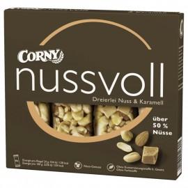 Corny Nussvoll Three kinds of nuts & caramel 96g