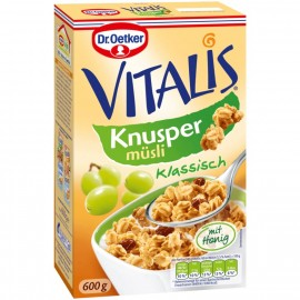 Dr. Oetker Vitalis Crunchy Muesli classic 600g