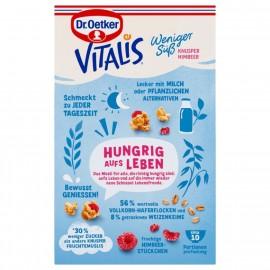 Dr. Oetker Vitalis less sweet crispy raspberry 425g