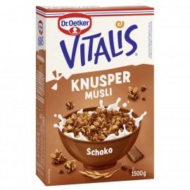 Dr. Oetker Vitalis Crunchy Muesli Chocolate Storage Pack 1.5kg