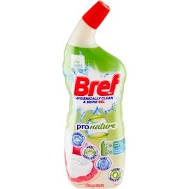 Bref WC gel ProNature with the scent of grapefruit, 700 ml