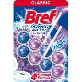 Bref WC block Power Aktiv with the scent of lavender, 100 g