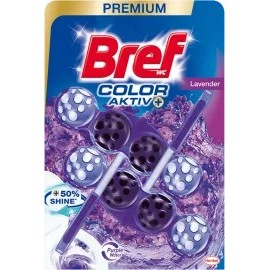 Bref Toilet block Color Aktiv with the scent of lavender, 100 g