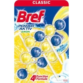 Bref WC block Power Aktiv with the scent of lemon, 150 g