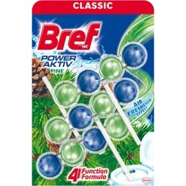 Bref WC block Power Aktiv with the scent of pine, 150 g