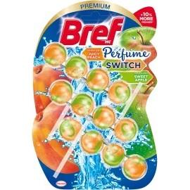 Bref WC block Perfume Switch peach & apple, 150 g