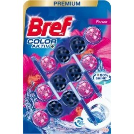 Bref Toilet block Color Aktiv Fresh Flowers, 150 g