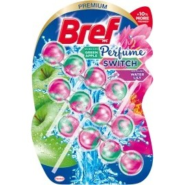 Bref WC block Perfume Switch apple & water lily, 150 g
