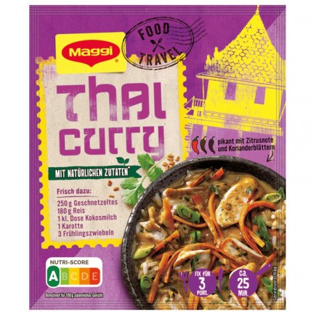 Maggi Fix for Thai Curry with Rice 34g