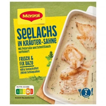 Maggi Fix for saithe in herb cream 33g