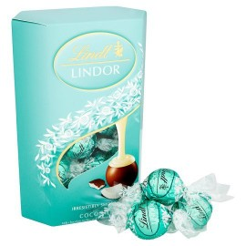 Lindt Lindor Irresistibly Smooth Coconut Milk Chocolate Truffles 200 g / 7.2 oz
