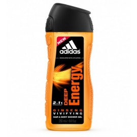 Adidas Deep Energy Shower Gel 250 ml / 8.4 fl oz