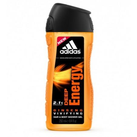 Adidas Deep Energy Shower Gel 250 ml / 8.4 fl oz