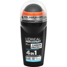 L'Oreal Men Expert Carbon Protect 4in1 Anti-Perspirant Roll-On 50 ml / 1.7 fl oz