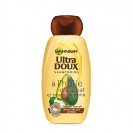 Garnier Ultra Doux Avocado Oil and Shea Butter Shampoo 250 ml / 8.3 fl oz