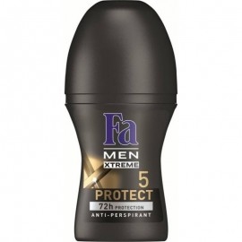 Fa Men Xtreme Protect 5 72h Roll-On Anti-Perspirant 50 ml / 1.7 oz