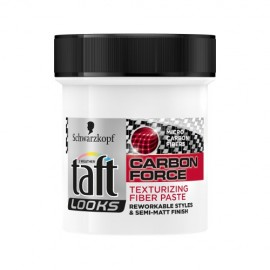 Schwarzkopf Taft Looks Carbon Force Texturizing Fiber Paste 130 ml / 4.3 oz
