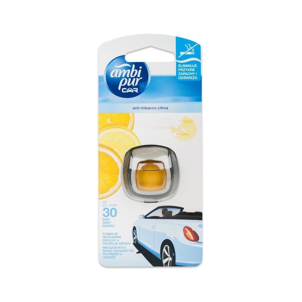 Ambi Pur Car Mini Freshener Anti-Tobacco Citrus