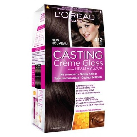 L'Oréal Casting Creme Gloss 412 Iced Cocoa
