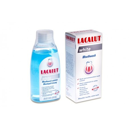 Lacalut White Mouthwash 300 ml / 10 fl oz