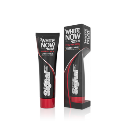 Signal White Now Men Energy Kick Toothpaste 75 ml / 2.5 fl oz