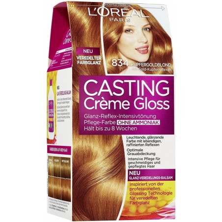 L'Oreal Casting Creme Gloss 834 Butterscotch / Gold Caramel