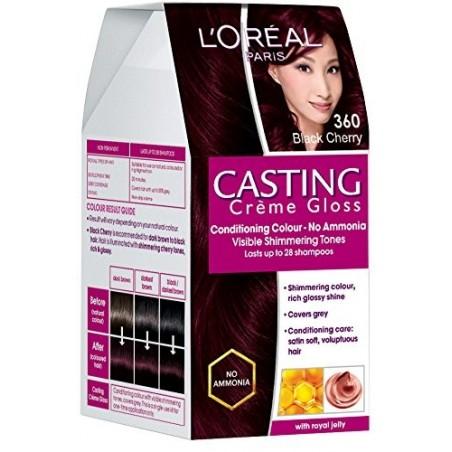 L'Oreal Casting Creme Gloss 360 Black Cherry
