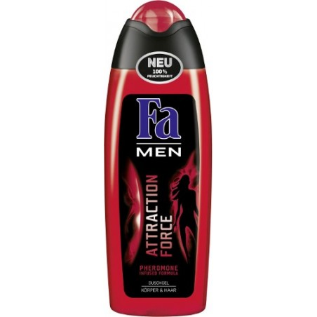 Fa Men Attraction Force Body & Hair Shower Gel 250 ml / 8.3 fl oz