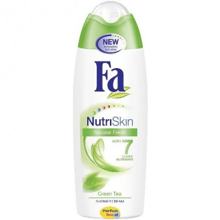 Fa NutriSkin Green Tea Shower Cream 250 ml / 8.3 fl oz