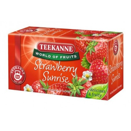 Teekanne Strawberry Sunrise