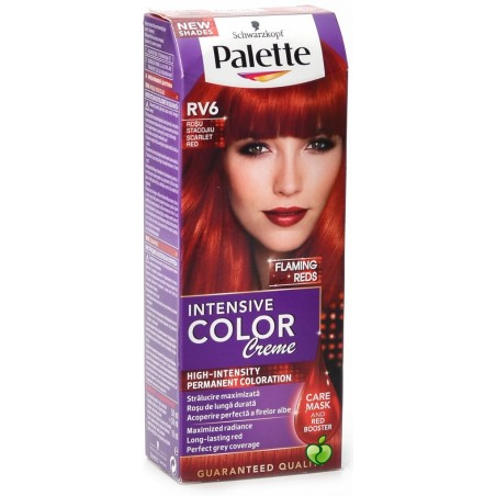 Schwarzkopf Palette Intensive Color Creme (RV6 Scarlet Red)