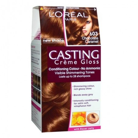 L'Oreal Casting Creme Gloss 603 Chocolate Caramel