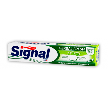 Signal Herbal Fresh Toothpaste 75 ml / 2.5 fl oz