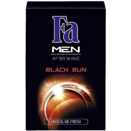 FA Men Black Sun After Shave 100 ml / 3.4 fl oz