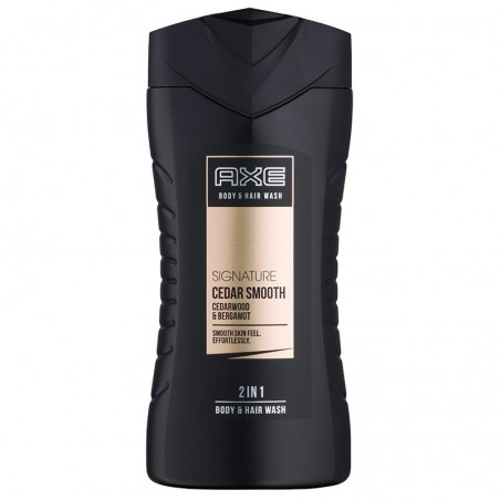 Axe Signature Cedar Smooth 2 in 1 Body and Hair Wash 250 ml / 8.4 fl oz