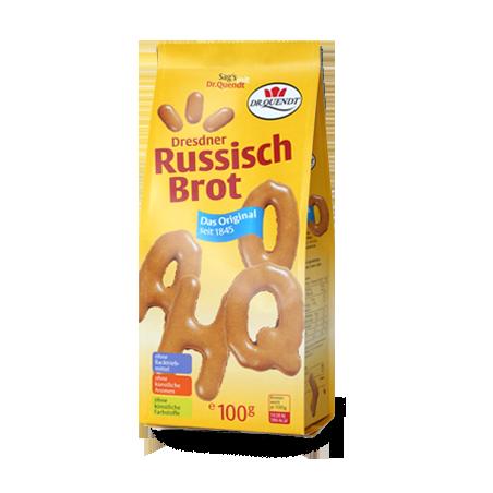 Dr. Quendt Dresdner Russisch Brot Original 100g