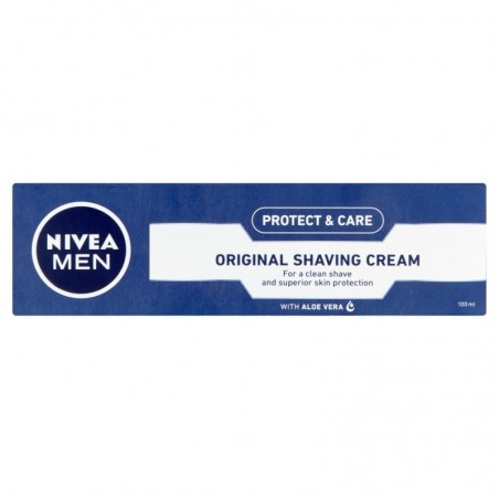 Nivea Men Protect & Care Lather Shaving Cream 100 ml / 3.4 oz