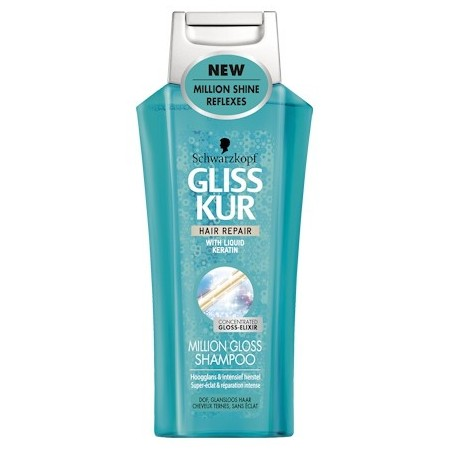 Schwarzkopf Gliss Kur Million Gloss Shampoo 250 ml / 8.3 fl oz