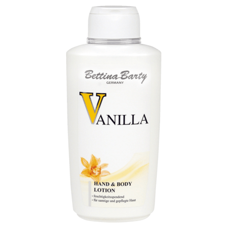 Bettina Barty Vanilla Hand & Body Lotion 500 ml / 16.7 fl oz