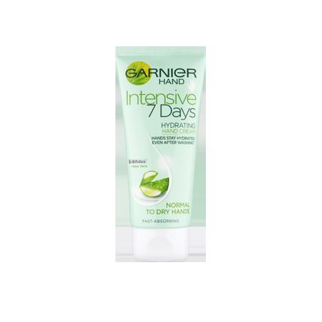 Garnier Intensive 7 Days Hydrating Hand Cream Aloe Vera 100 ml / 3.4 oz