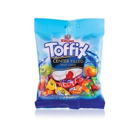 Elvan Toffix Assorted Fruity Filled Chew 90 g