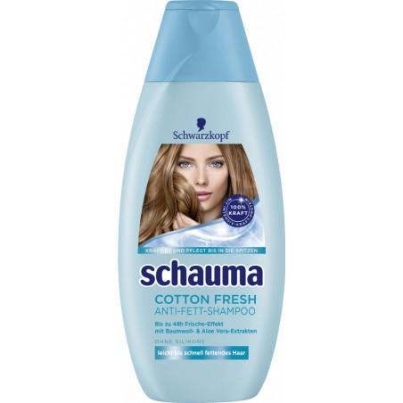 Schwarzkopf Schauma Cotton Fresh Shampoo 400 ml / 13.3 fl oz