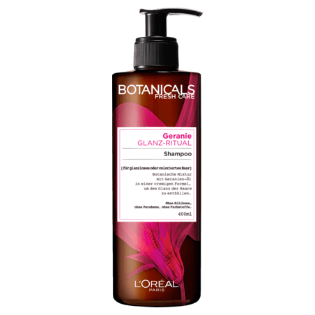L'Oréal Botanicals Fresh Care Geranium Radiance Remedy Shampoo 400 ml / 13.3 fl oz