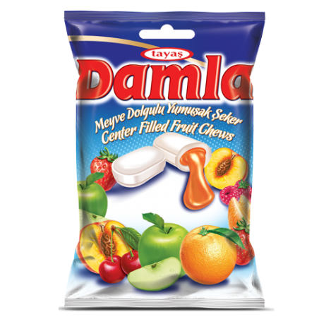 Tayas Damla Assorted Soft Candy 90 g / 3.17 oz