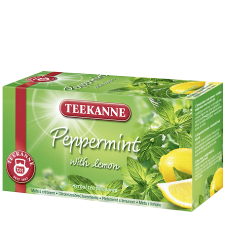 Teekanne Peppermint with Lemon Tea