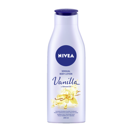 Nivea Sensual Vanilla Body Lotion 200 ml / 6.8 fl oz